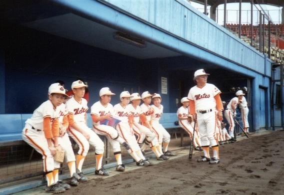 1983・1988・1990年当時の平塚市内の少年野球チーム